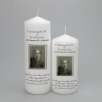 Picture Memorial Candles
