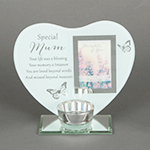 Memorial Tea light holders with Photo Frame