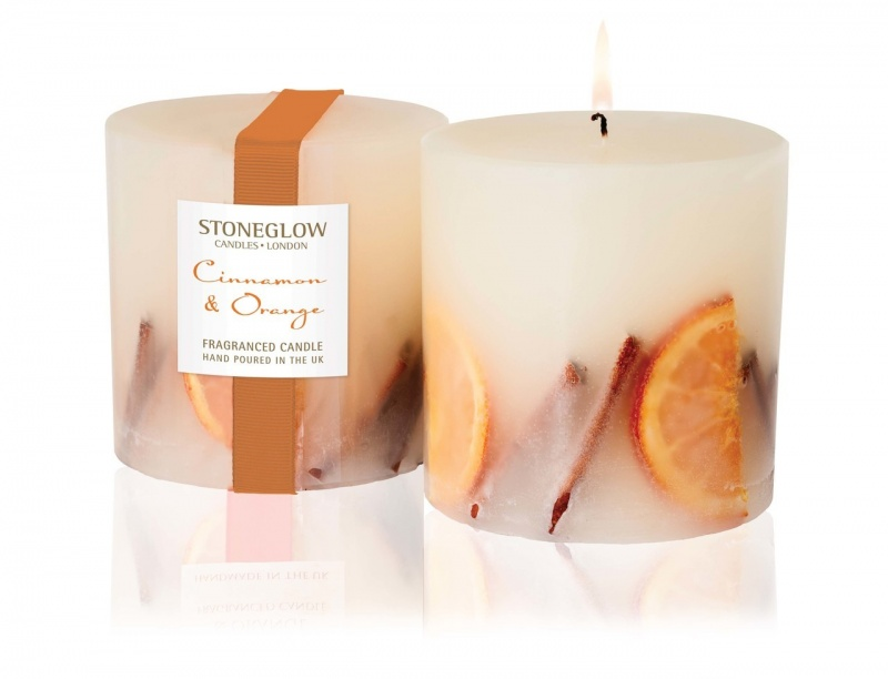 Cinnamon & Orange solid Scented Candle