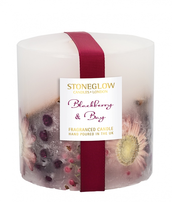 Blackberry & Bay Solid Scented Candle