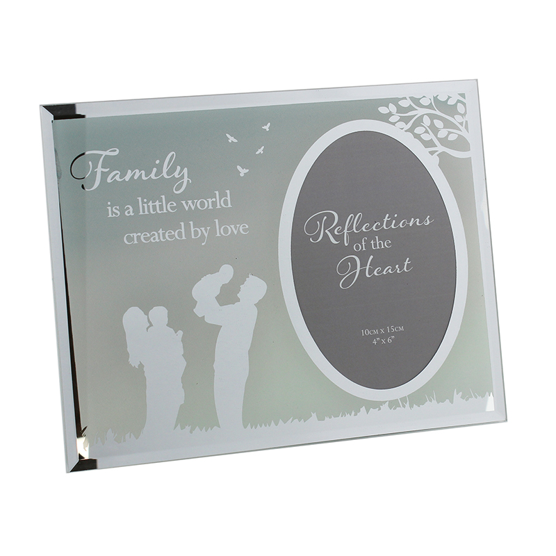 'Family' Reflections of the Heart Photo frame