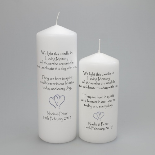 Wedding Absence candle for those unable to celebrate this day with us.