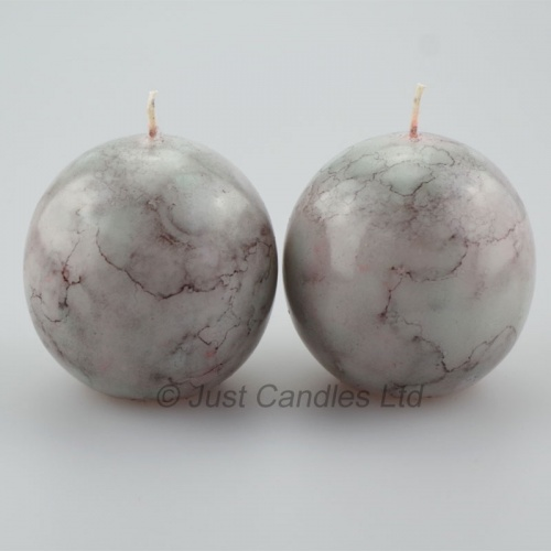 Ball Candles marble