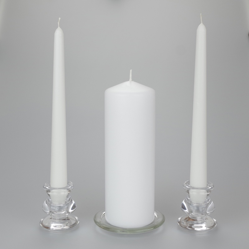 Unity Candle set with no personalisation