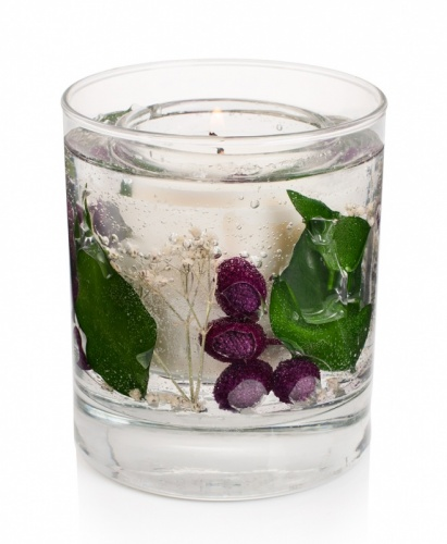 Stoneglow Plum & Blackberry Gel Tumbler Scented Candle - now with natural wax
