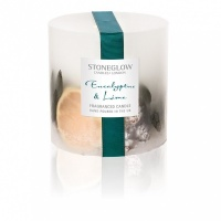 Stoneglow Eucalyptus & Lime Solid Scented Candle