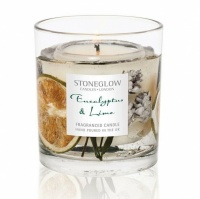 Eucalyptus & Lime Gel Tumbler Scented Candle - now with natural wax