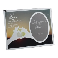 'Love' Reflections of the Heart Photo frame