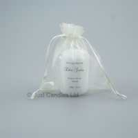 Small memorial candle 'For Ever in our Hearts'