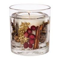 Nutmeg, Ginger & Spice Gel Tumbler Scented Candle - now with natural wax