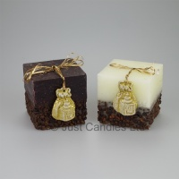 Luxury Coffee scented decorative square Candle
