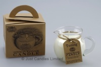 Toning massage candle