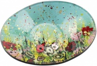 Oval Bowl for Ball Candle - Wild Meadow