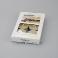 Pack of  6 x Vanilla scented Tea lights